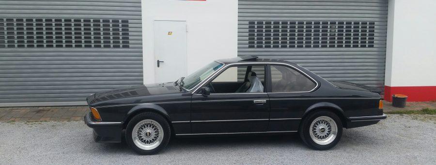 Restauration BMW E24