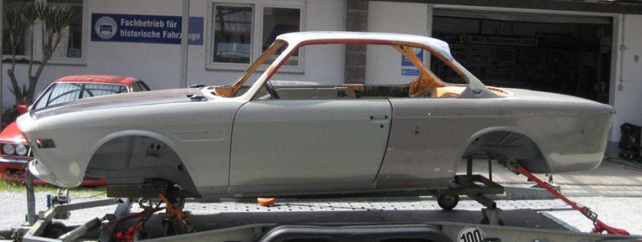 Restaurierung BMW E9 2,5 – 3,0 CSL