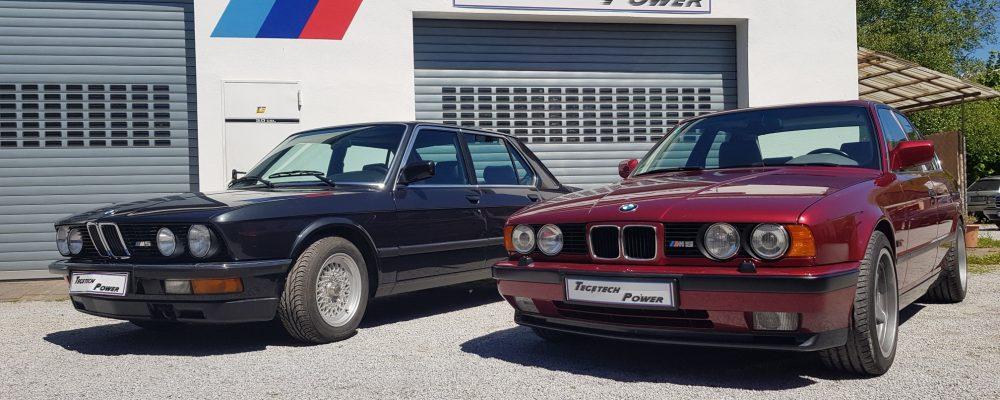 BMW M5 E28 UND M5 E34