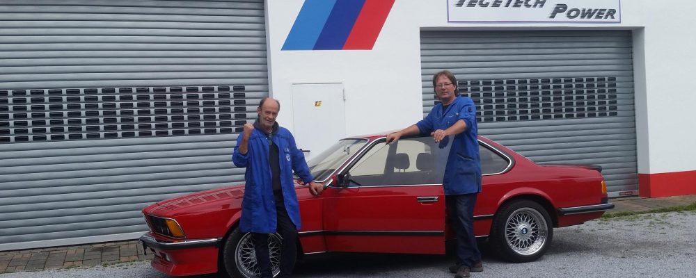 Motorüberholung BMW M635